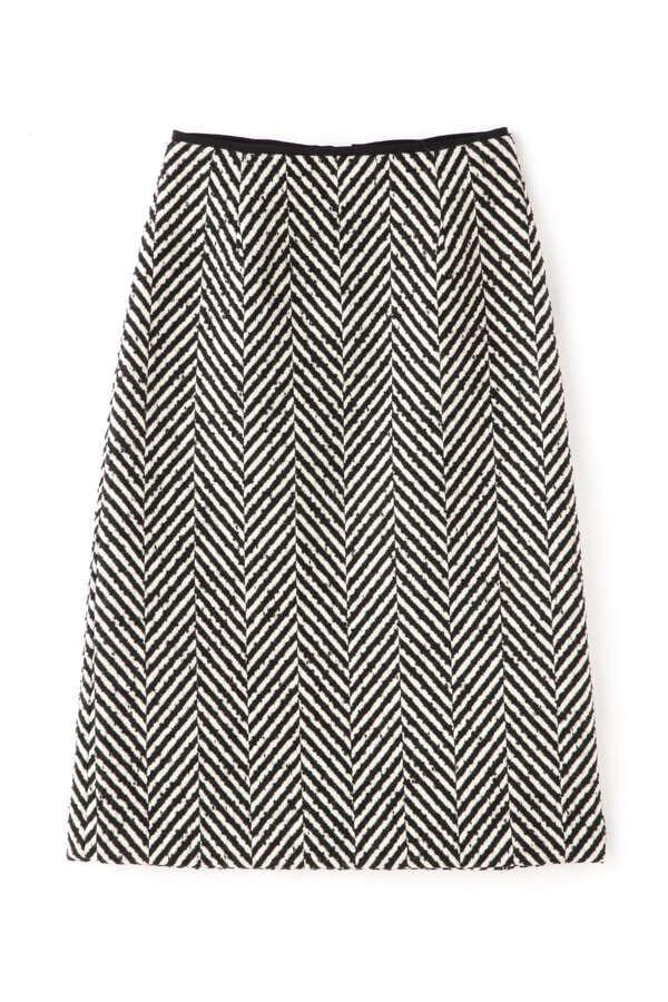 【先行予約 11月上旬-中旬入荷予定】ビックヘリンボーンスカート