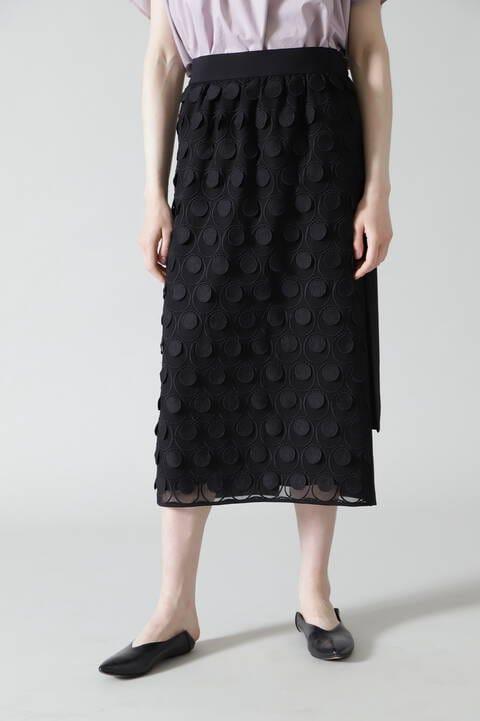 サークルレーススカート