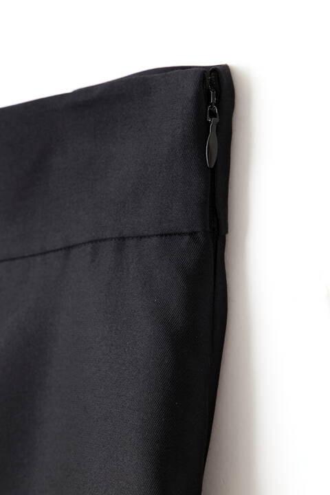 <BLACK LABEL>シルクウールスカート