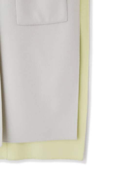スーパー140 2TONEリバーノースリーブジャケット