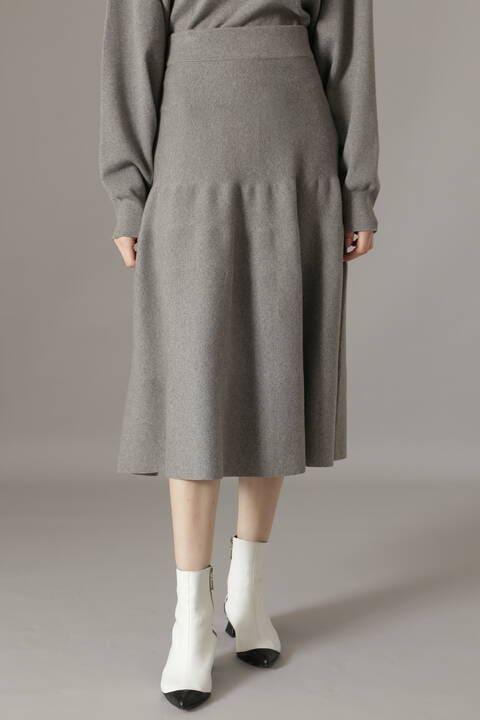 コットンカシミヤスカート