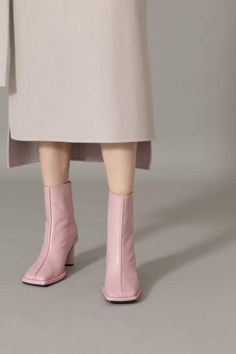Reike Nen スクェアトゥショートブーツ