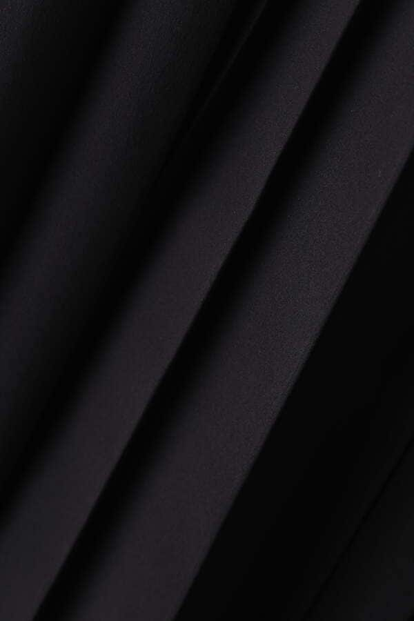 タイプライターベルト付きプリーツスカート