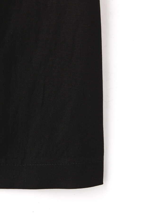 麻レーヨン バックスリットスカート
