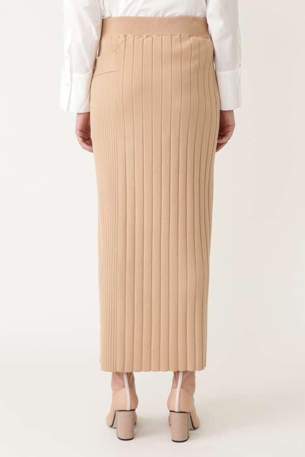 クリアニットスカート
