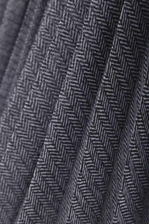 《LE PHIL》ドッキングプリーツスカート