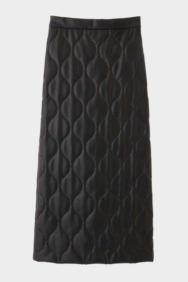 《LE PHIL》ミリタリーキルトスカート