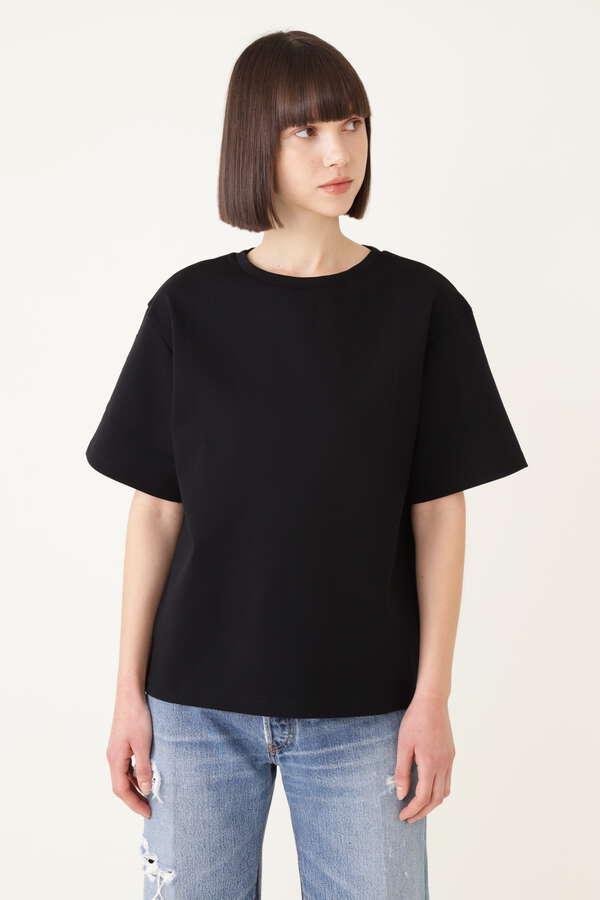 コットンストレッチTシャツ