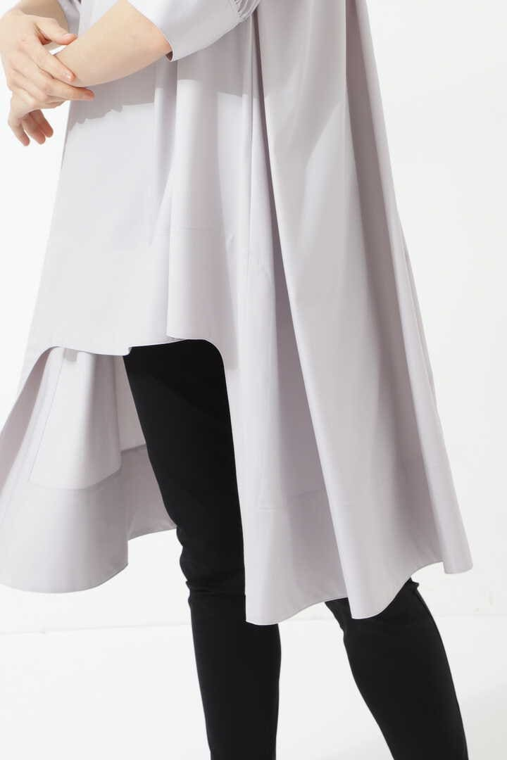 《LE PHIL》シルキーブロードロングシャツ