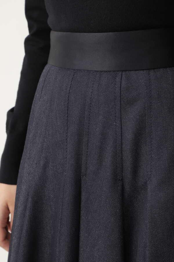 クチュールデニムスカート