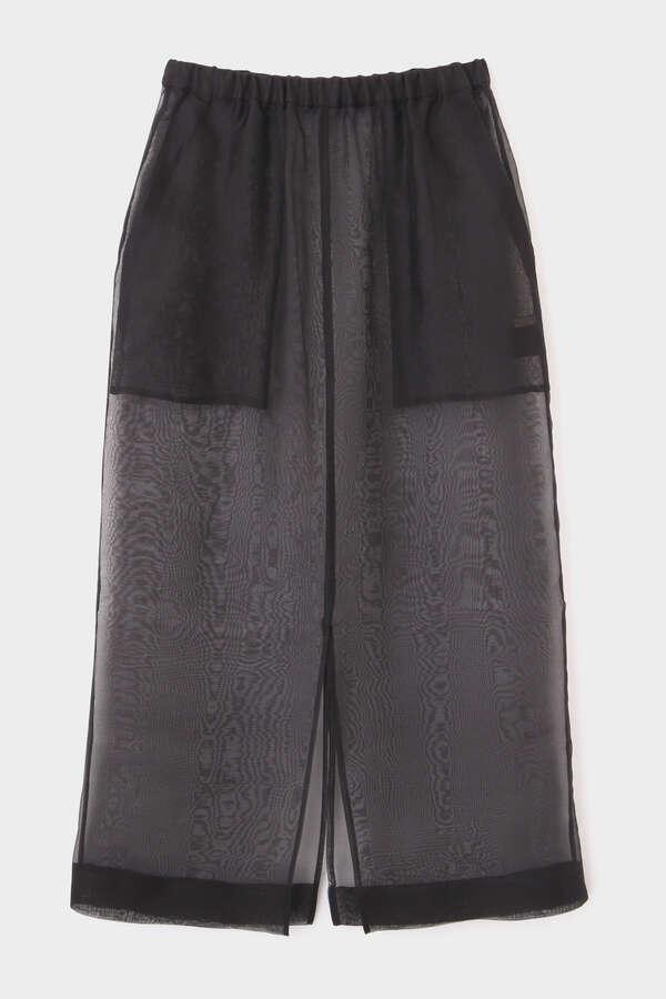 《LE PHIL》シアーオーガンジースカート