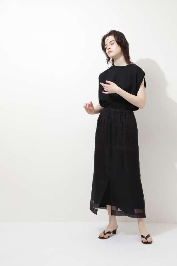 シアーオーガンジースカート