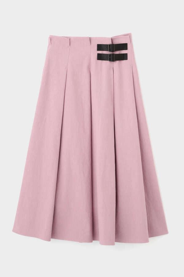 《LE PHIL》綿麻ツイルスカート