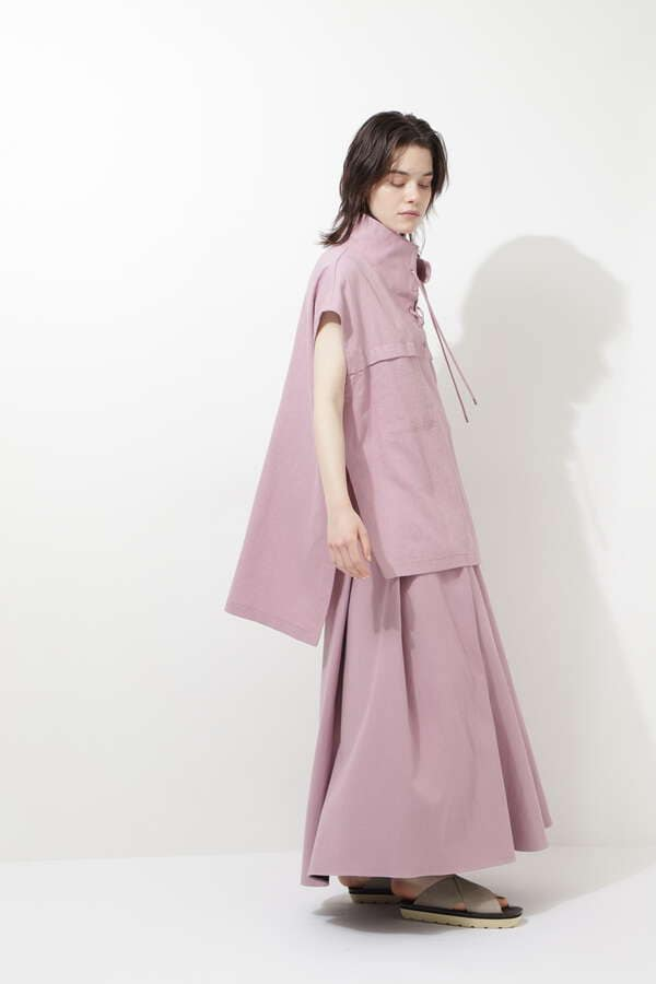 綿麻ツイルスカート