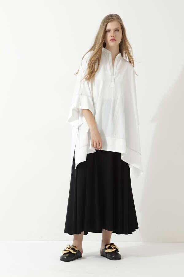 ドライタッチストレッチスカート