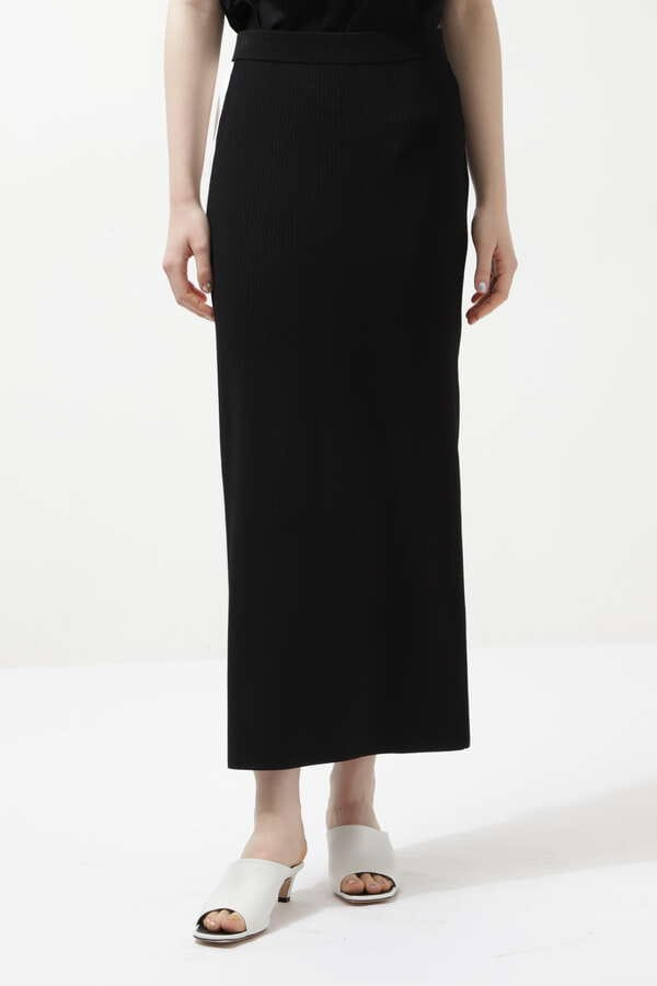 サンドリブニットスカート