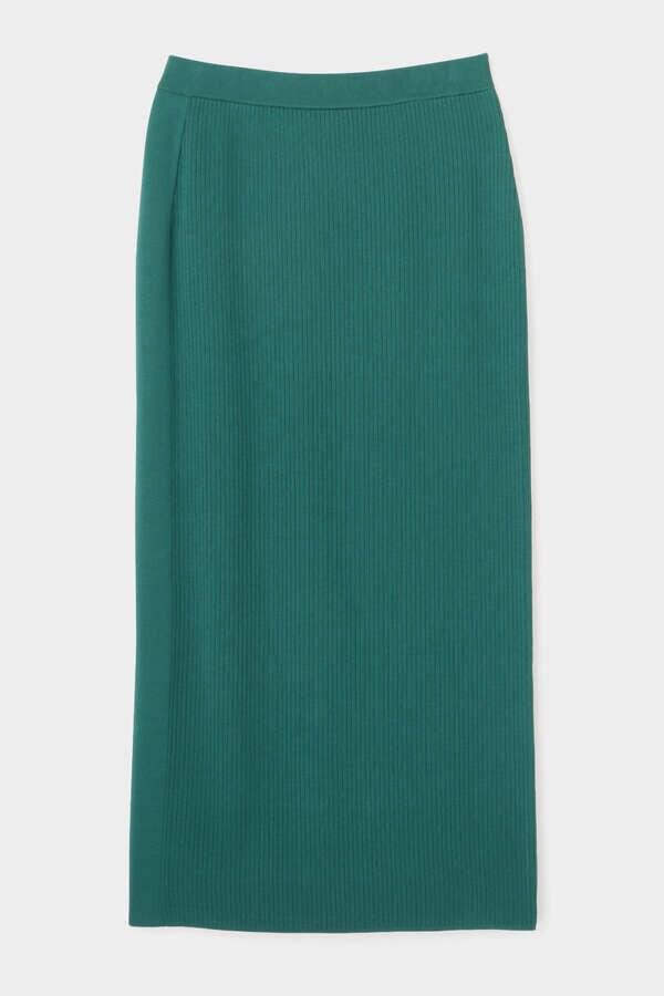 《LE PHIL》サンドリブニットスカート