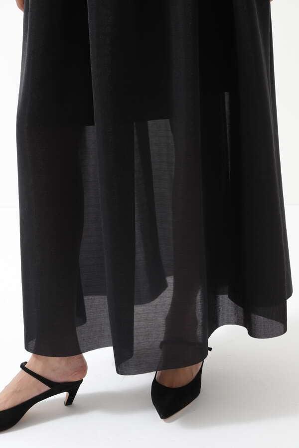 チュールメッシュスカート