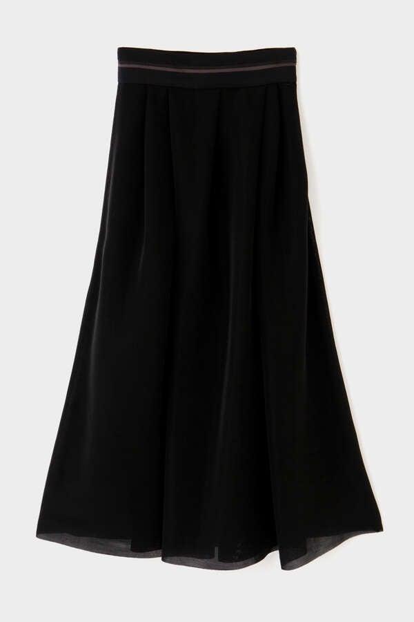 《LE PHIL》チュールメッシュスカート