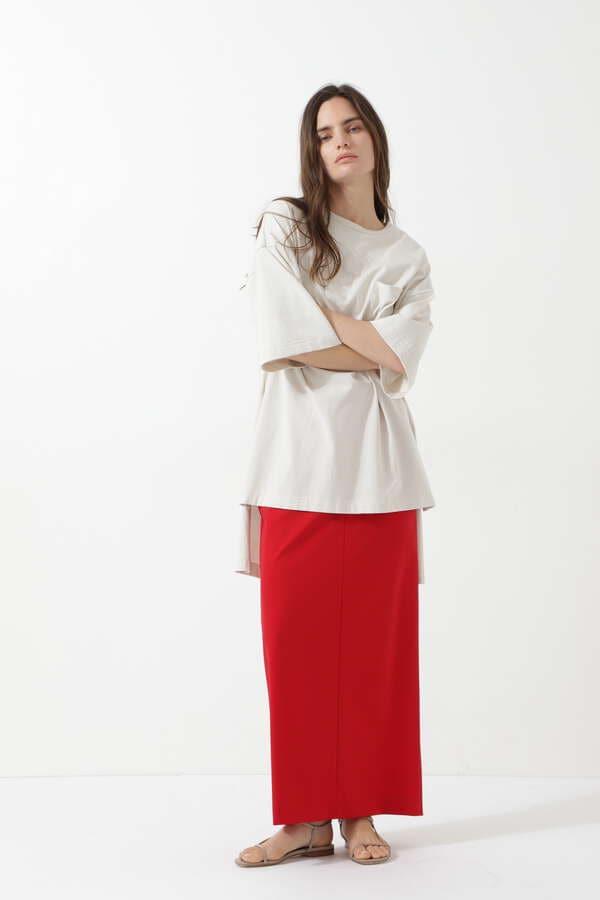 ストレッチポンチスカート