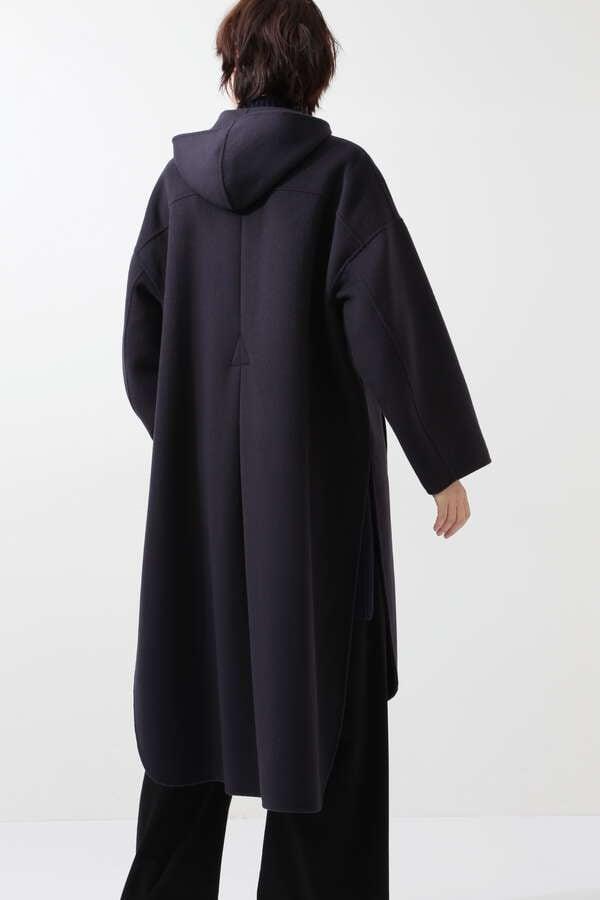 【先行予約 10月中旬-下旬 入荷予定】ソフトウールビーバーフーデッドコート