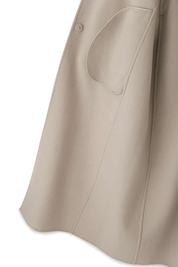 【先行予約 10月中旬-下旬 入荷予定】ソフトウールビーバーコート