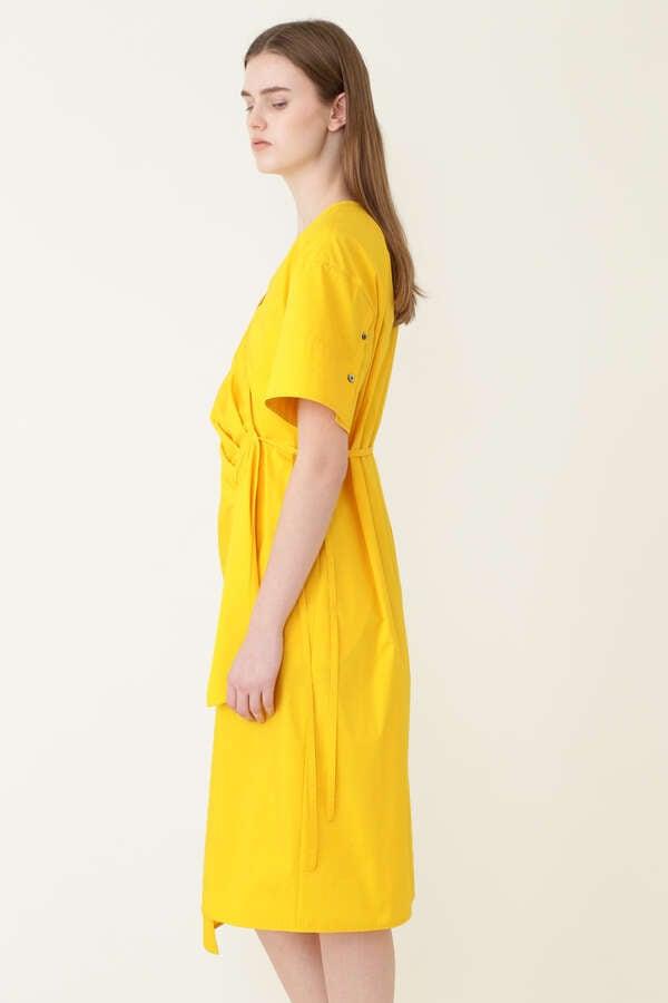 カシュクールシャツドレス