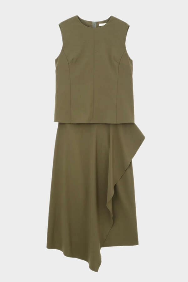 《LE PHIL》パッカブルドレス