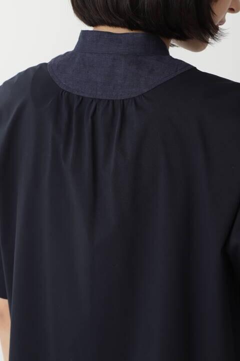 ライクアウーブンカットソーブラウス