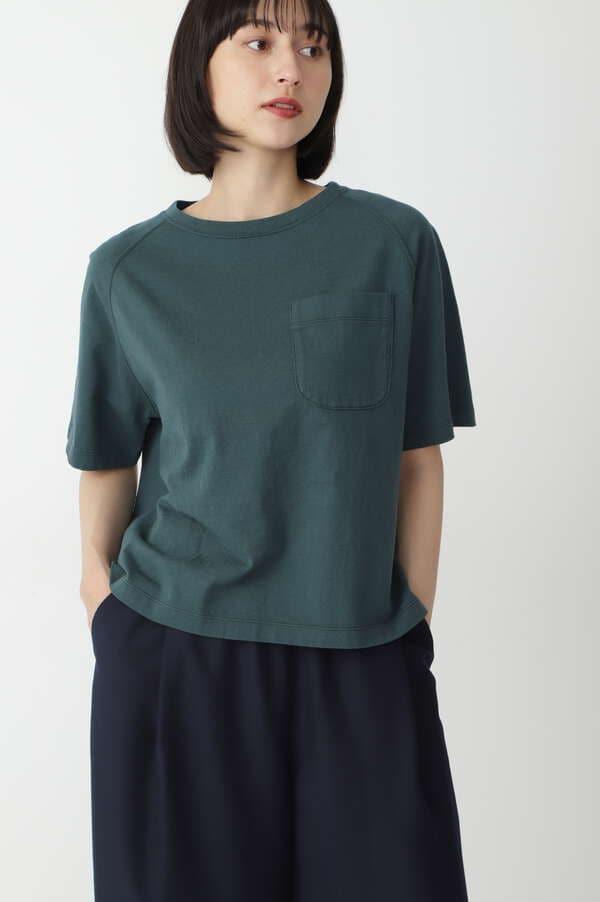 40/2スラブ天竺Tシャツ