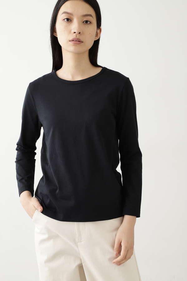 コットン長袖Tシャツ