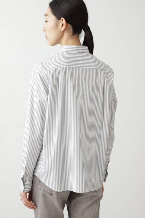 ロンストブロードシャツ