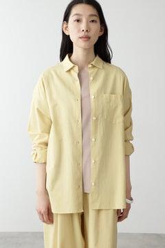 FOOD TEXTILEサテンシャツ