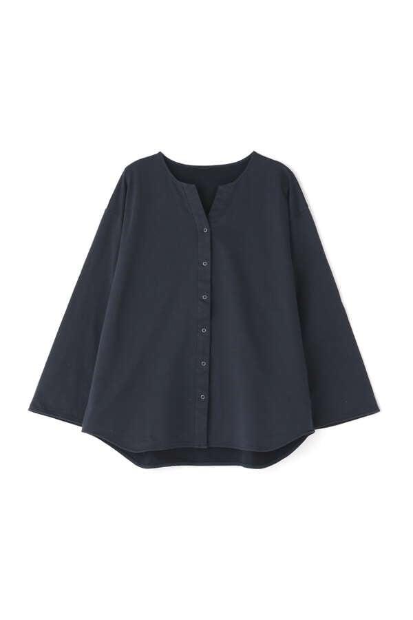≪Japan Couture≫ハイゲージ裏毛ブラウス