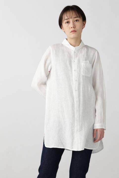 [WEB 限定] NATIC ラウンドカラーチュニックシャツ