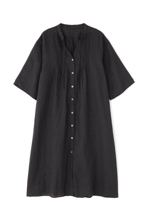 ラミーローンリネンロングシャツ