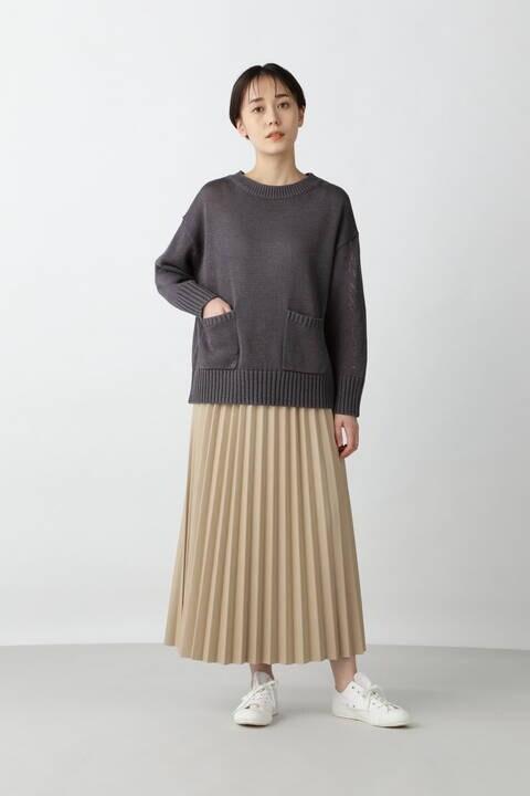 ≪arrive 5e≫フェイクレザー(合皮)スカート
