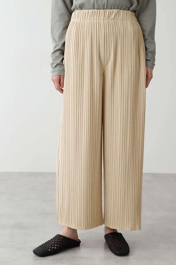 ランダムミニリブ裏毛パンツ