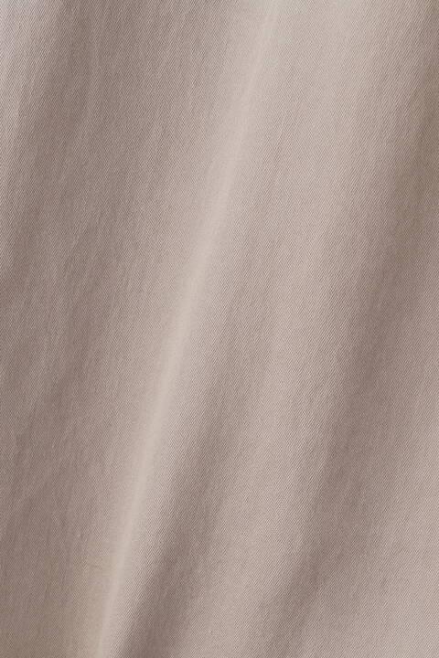 オーガニックサイロ微強撚ベルト付きワンピース