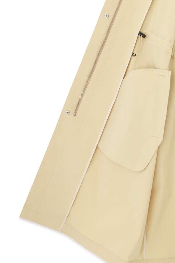 トリアセ混タフタSY加工コート