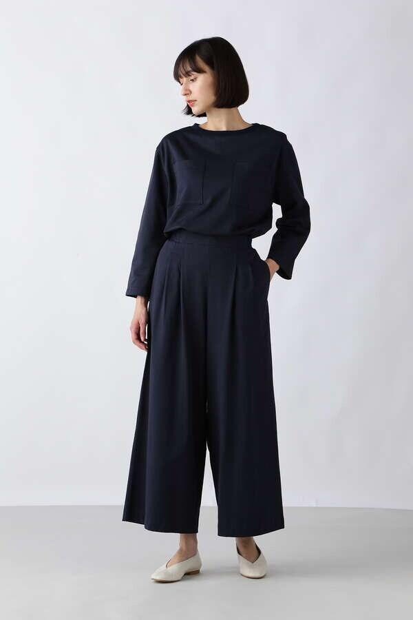 ≪Japan Couture≫ハイゲージ裏毛プルオーバー