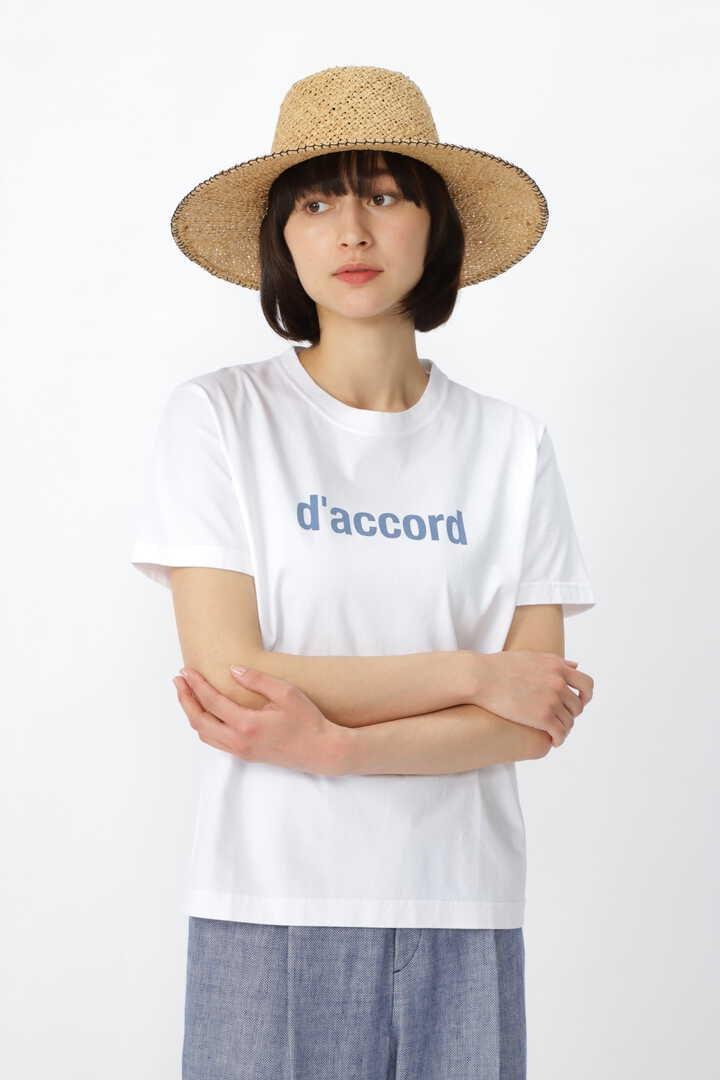 ロゴT/スワイスワイ天竺d'accord Tシャツ