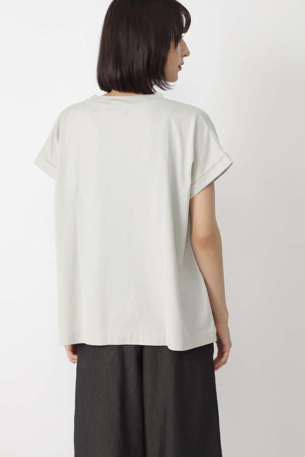50/2ギザンティ天竺ロゴTシャツ