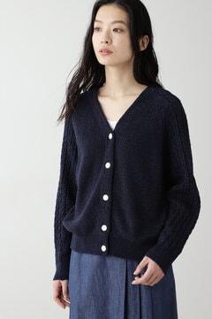 【先行予約 2月上旬-中旬 入荷予定】≪Japan Couture≫デニム調カーディガン