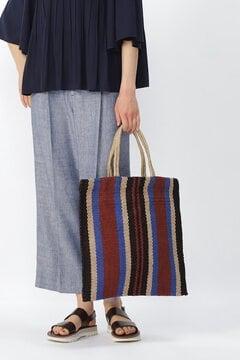 MaisonBengalストライプバッグ