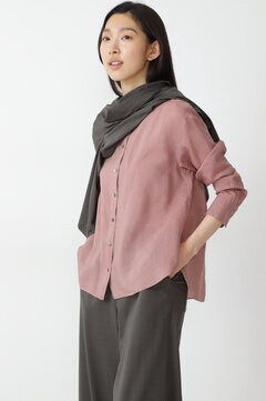 【先行予約 8月上旬-中旬 入荷予定】製品染め・ラミーヴィスコースシャツ