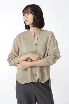 製品染め・ラミーヴィスコースシャツ