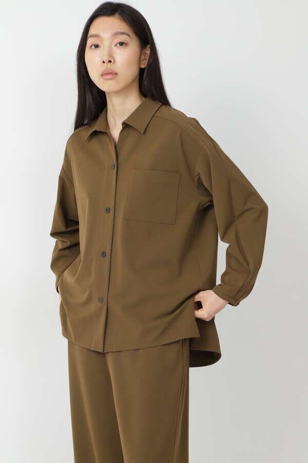 2WAYストレッチビッグシャツ