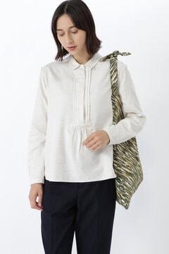 ≪Japan couture≫ヨコヘリンボーンブラウス