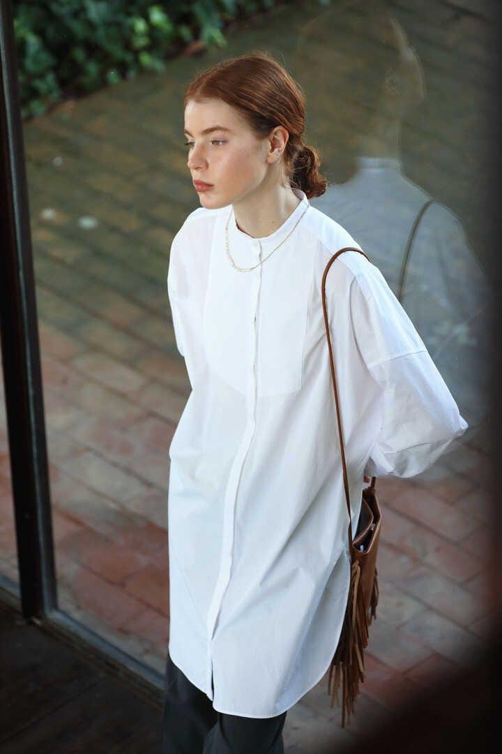 5e・キルト刺繍ロングシャツ